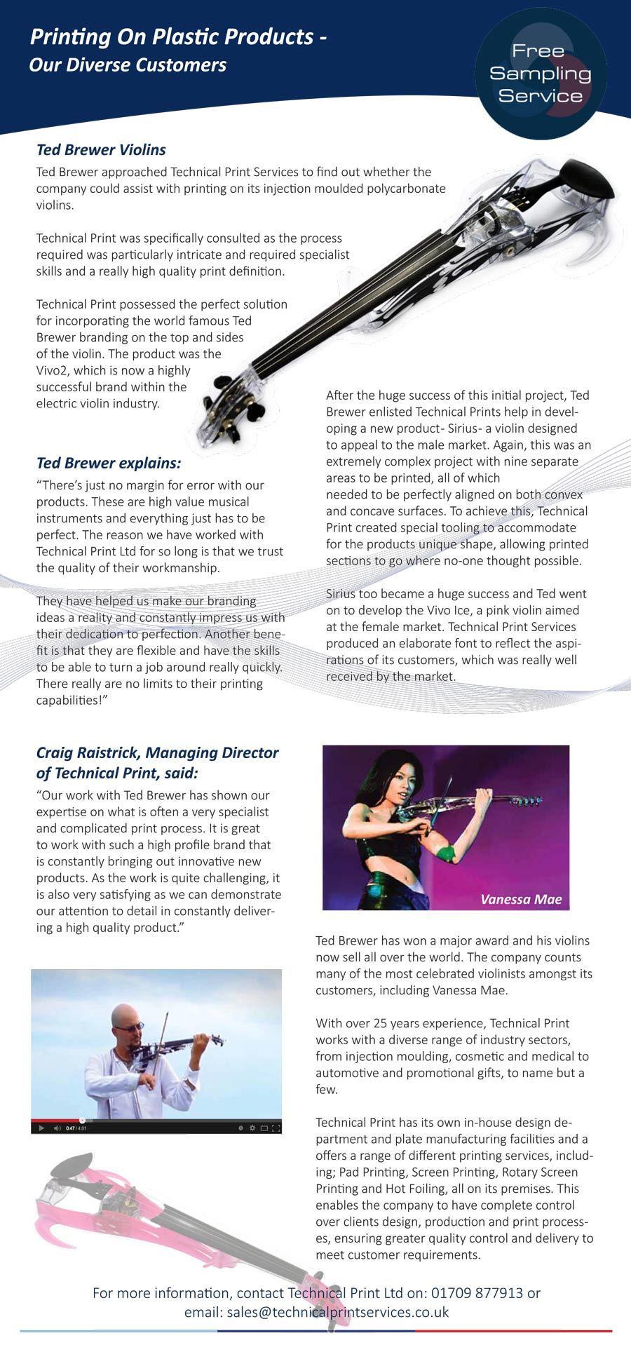 Ted Brewer Violins